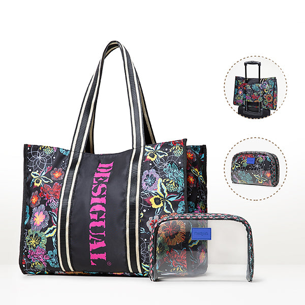 Desigual Beach Bag- Beach Please