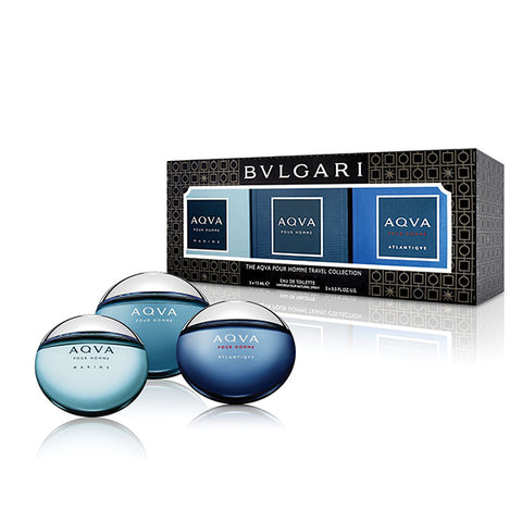 The Bvlgari AQVA Miniatures