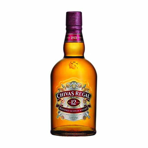 Chivas Regal 12 Year Old Scotch Whisky 1L