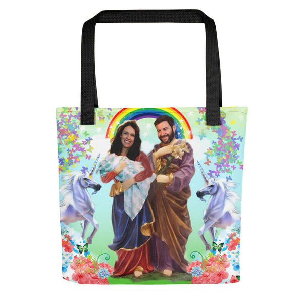 Our Lady of Perpetual Conversations Tote bag