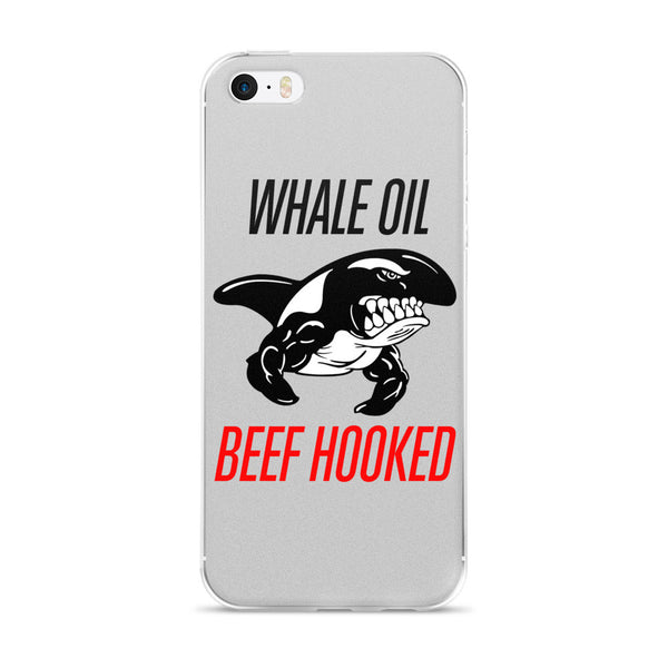 Red WHALE OIL BEEF HOOKED  iPhone 5/5s/Se, 6/6s, 6/6s Plus Case
