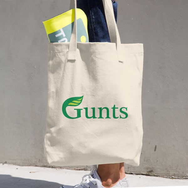 Gunts 100% Cotton Grocery Bag