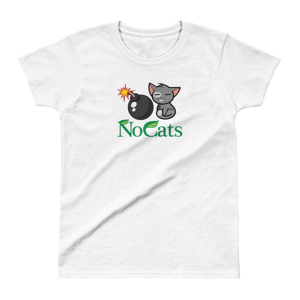 No Cats Ladies' T-shirt