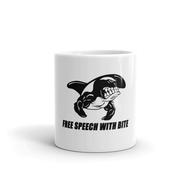 FREE SPEECH WITH BITE 11oz Mug