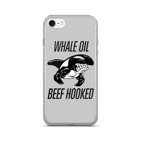 Black WHALE OIL BEEF HOOKED iPhone 7/7 Plus Case