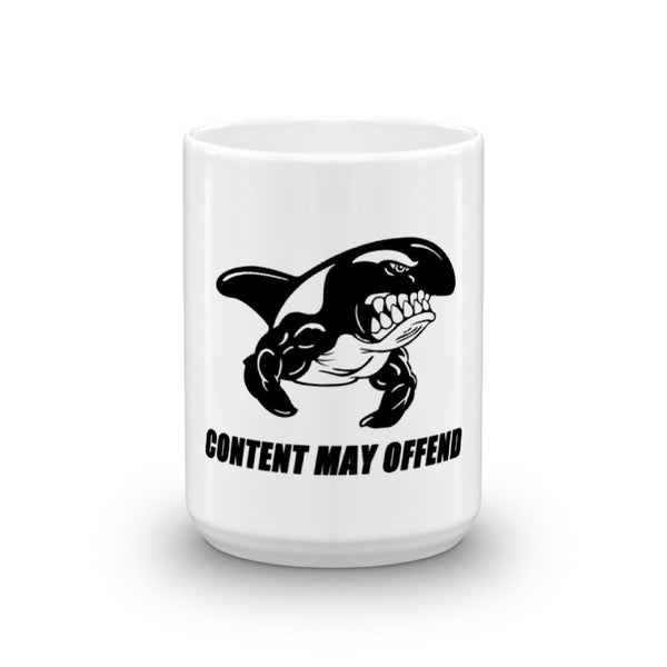 CONTENT MAY OFFEND 15oz Mug