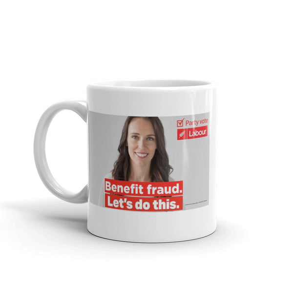 "Benefit Fraud "" Let's Do This "" Labour Party Mug"