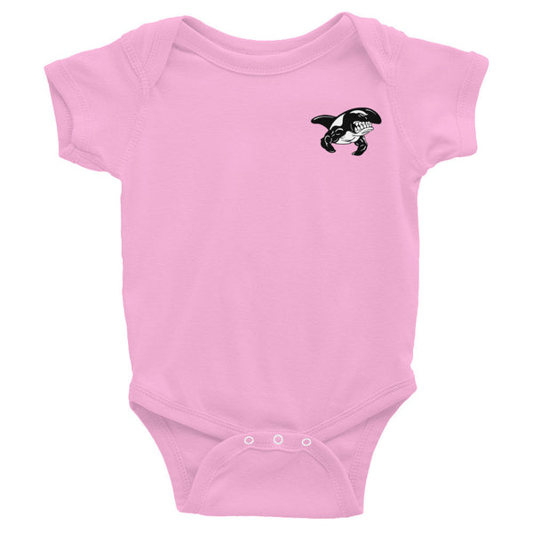 WHALE Baby Onesie