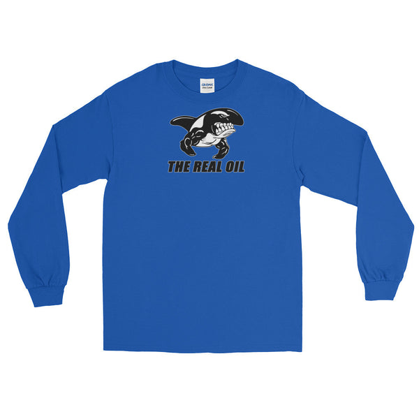 THE REAL OIL Long Sleeve T-Shirt with cuffs