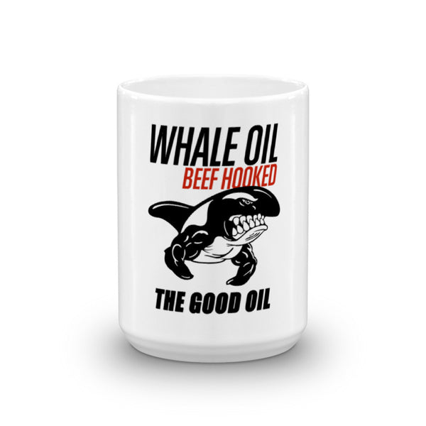 THE GOOD OIL 15oz Mug