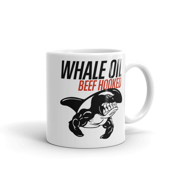 WHALE OIL BEEF HOOKED 11oz ( left handed )