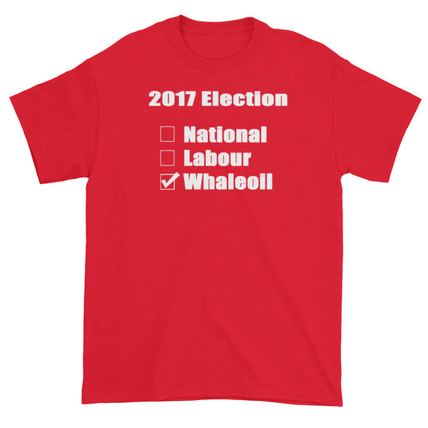 2017 Election Short sleeve T-shirt