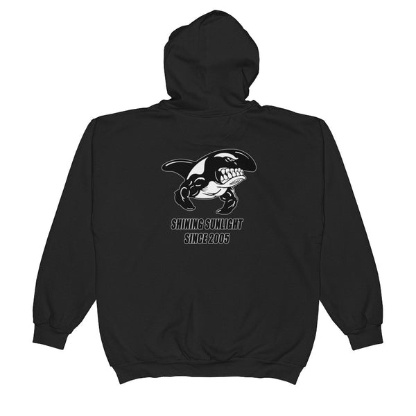 SHINING SUNLIGHT SINCE 2005 Unisex  Zip Hooded Sweatshirt