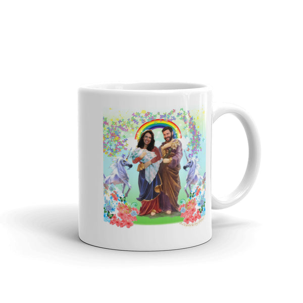 Our Lady of Perpetual Conversations Mug