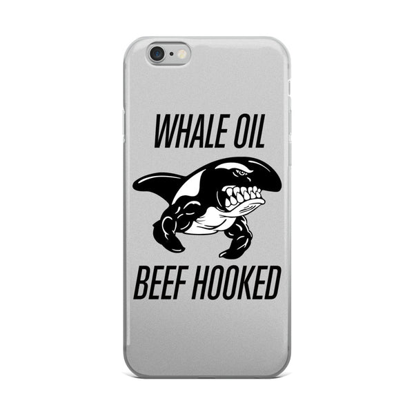 Black WHALE OIL BEEF HOOKED iPhone 5/5s/Se, 6/6s, 6/6s Plus Case