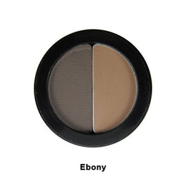 Senna brow shaper duo 眉粉組合 #ebony自然啡 - GreenBeautyKoko