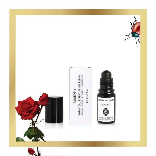 Sangre de Fruta Roll-On Essential Oil Perfume Rose No.1 無人之境玫瑰