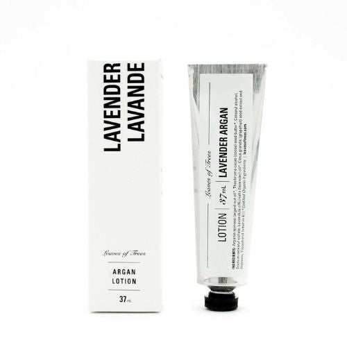 Leaves of Tress Lavender Argan Hand & Body Lotion 薰衣草