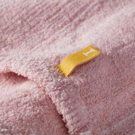 Straits  Wash Towel Pink 粉紅條子 - GreenBeautyKoko