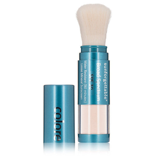 CS Sunforgettable SPF 30 Loose Mineral Powder Brush - GreenBeautyKoko