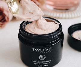Twelve Beauty The London Mask 奇蹟收復粉紅面膜 - GreenBeautyKoko