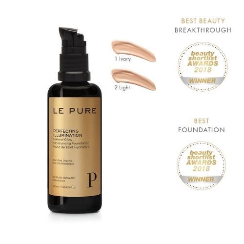 Le Pure Perfecting Illumination Foundation  發光護膚粉底液