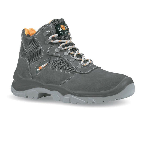 Scarpe U-Power Real Anti-Infortunistica Trekking Con Tomaia In Pelle Scamosciata Nere Taglie Assortite - OpenGardenWeb