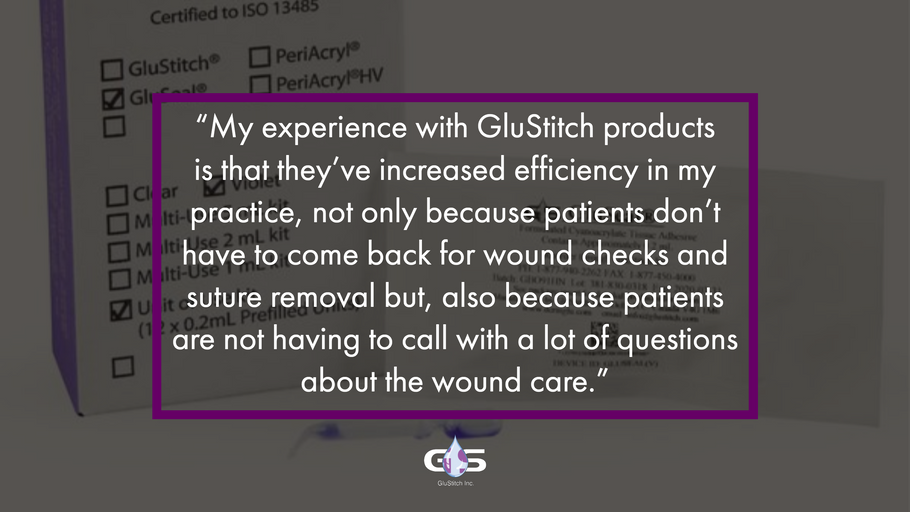Dr. Allen Board-Certified Dermatologist and fellowship-trained MOHS & Cosmetic Surgeon Shares His Thoughts About the GluStitch Family of Products
