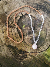 Bhakti Mala - Rose Quartz and Howlite