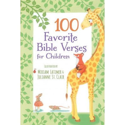 100 Favorite Bible Verses for Kids