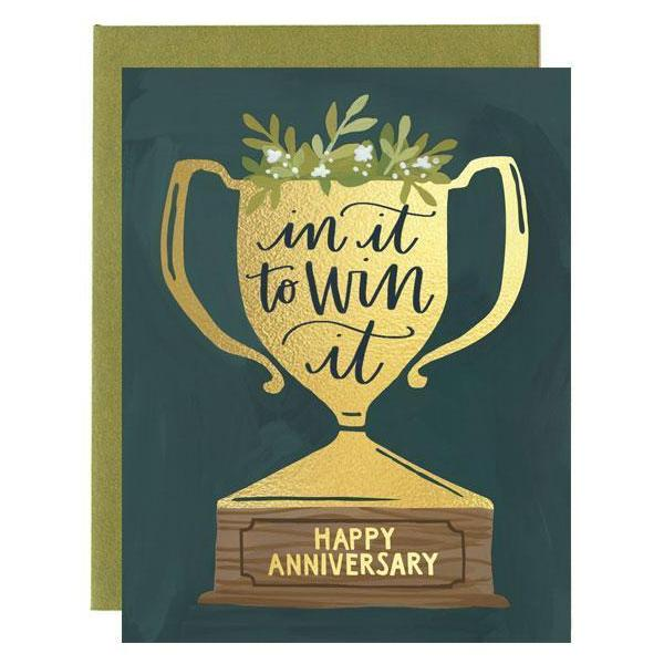 Anniversary Trophy Card