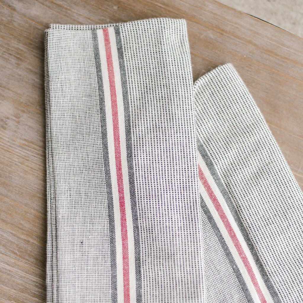 "18"" Square Chambray Napkin set of 4"