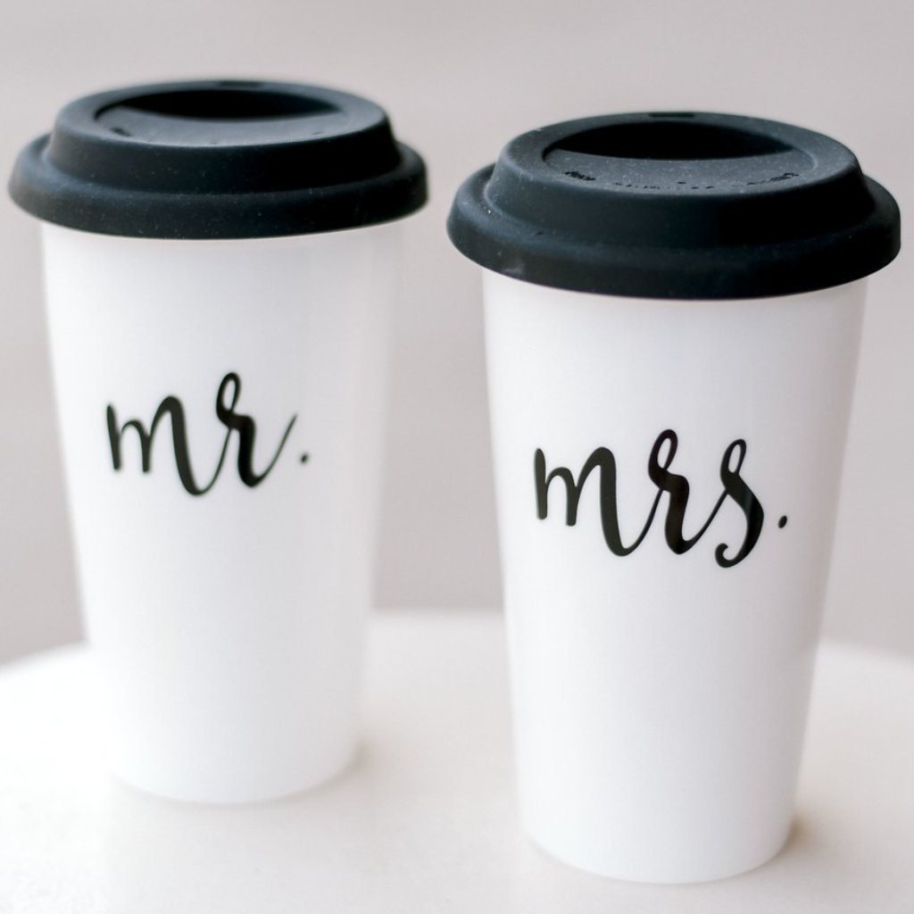 Mr. & Mrs Travel Mug
