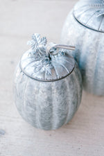Galvanized Pumpkin Containers