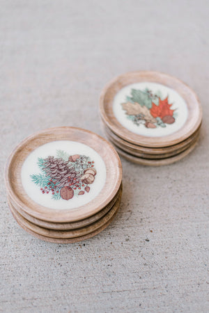 Bottle Coaster/ Tidbit Plate