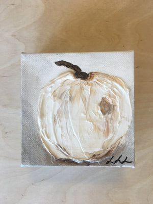 4x4 Canvas - Pumpkin