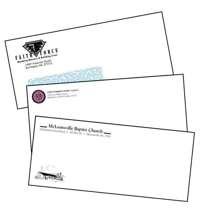 #10 Church Envelopes