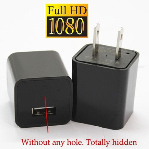 Full 1080P HD USB Charger & Security Camera 8GB 16GB 32GB