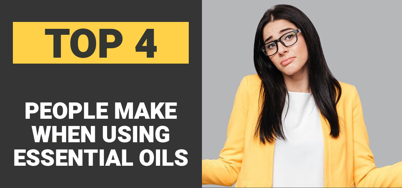 4 Mistakes Most People Make When Using Essential Oils