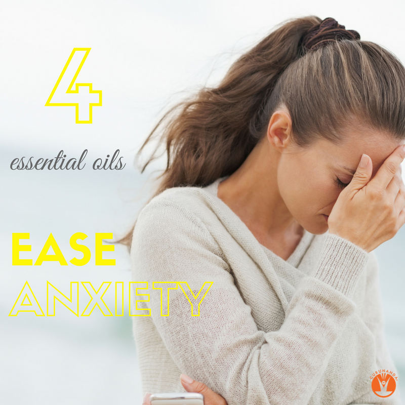 The Best 4 Essential Oils for Anxiety