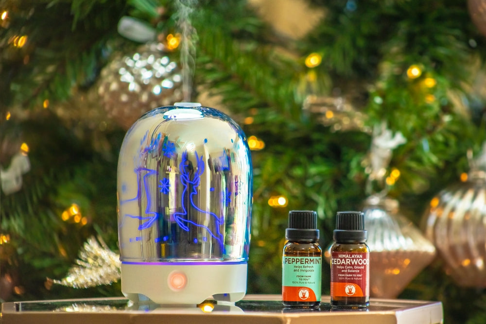 7 Diffuser Blends to Cultivate the Holiday Spirit