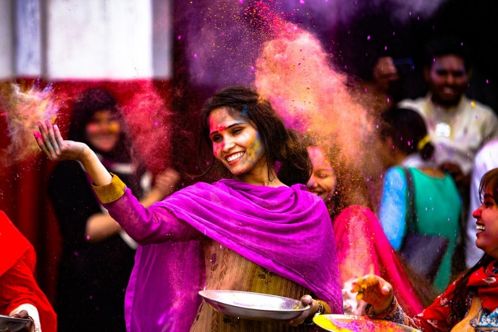 Why Do We Celebrate Holi, and What are the Colors About?