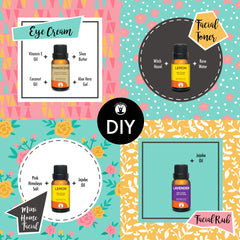 DIY: 4-Step Mini Home Facial with Essential Oils