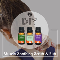 DIY for Muscle Soothing Scrub and Rub