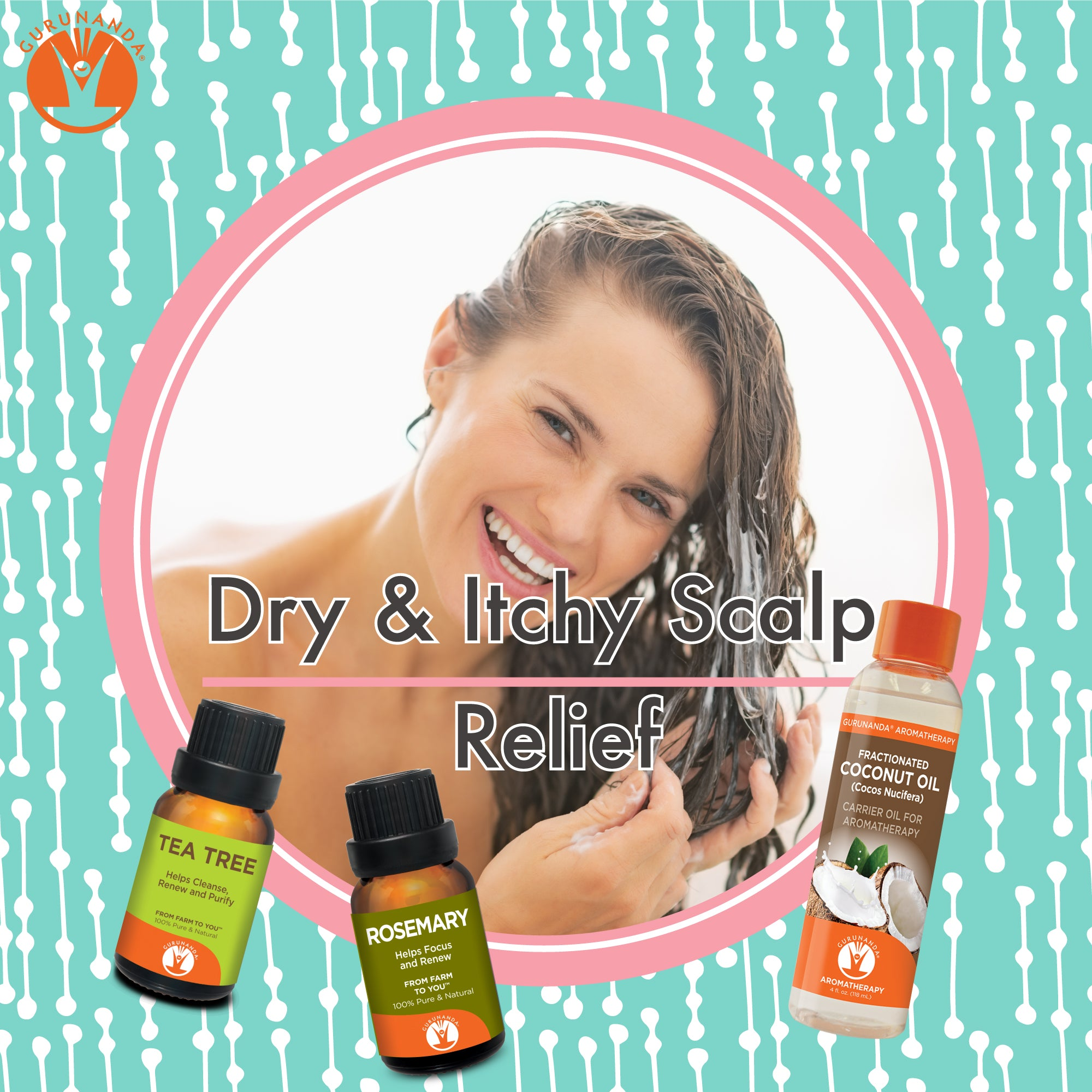 DIY Dry & Itchy Scalp Relief Shampoo