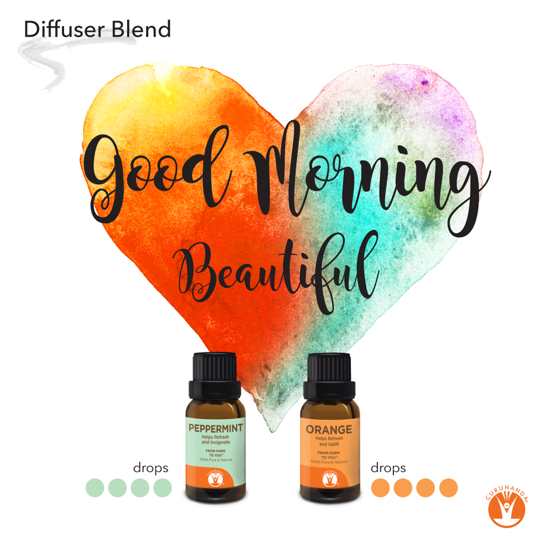 Morning Zinger Diffuser Blend