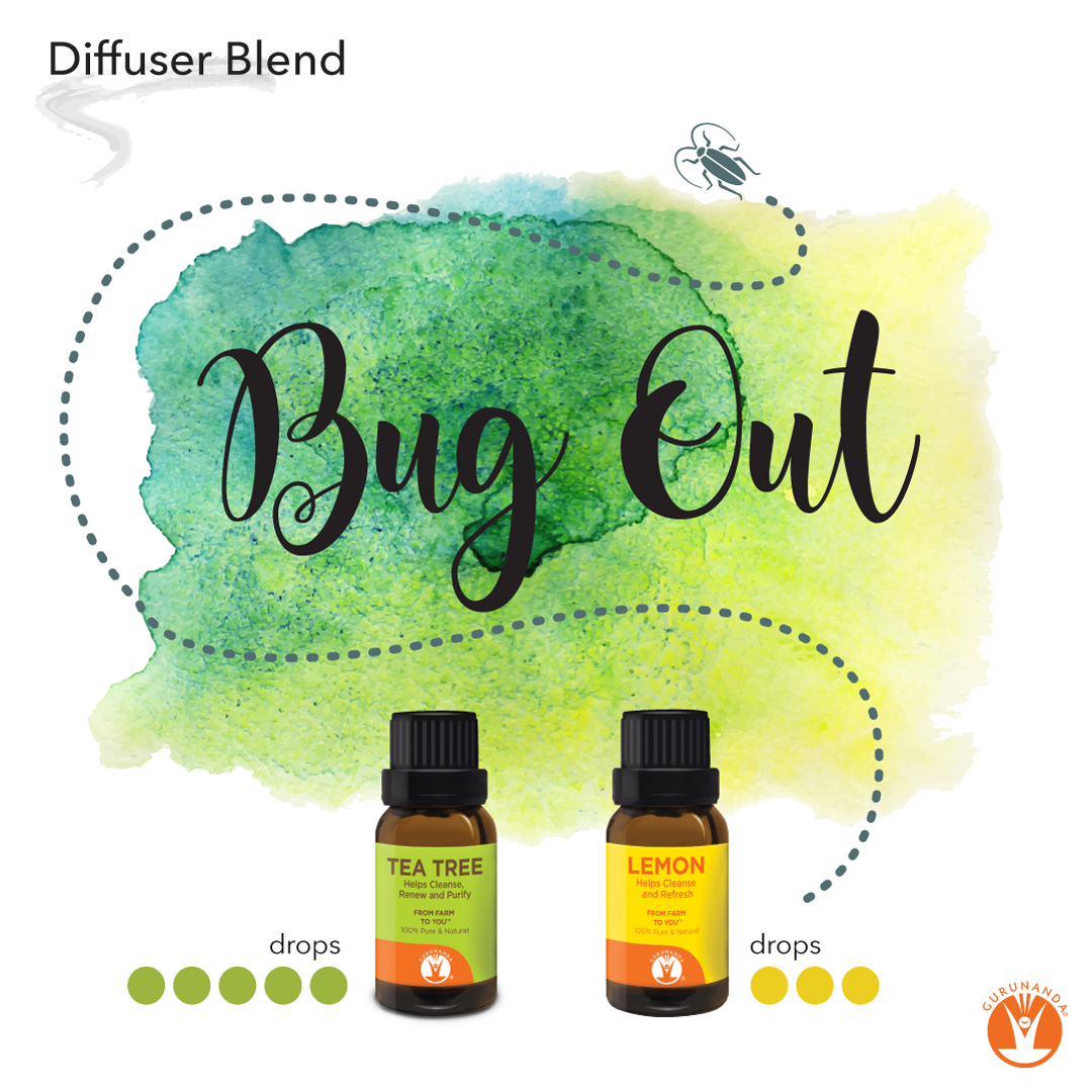 Bug Out Diffuser Blend