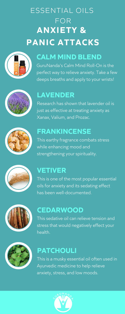 Essential Oils for Panic Attacks and Anxiety