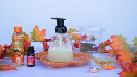 Thrive Essential Oil Blend DIY Handsoap Ingredients