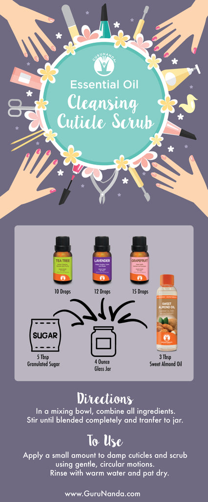 Cleansing Cuticle with Essential Oils